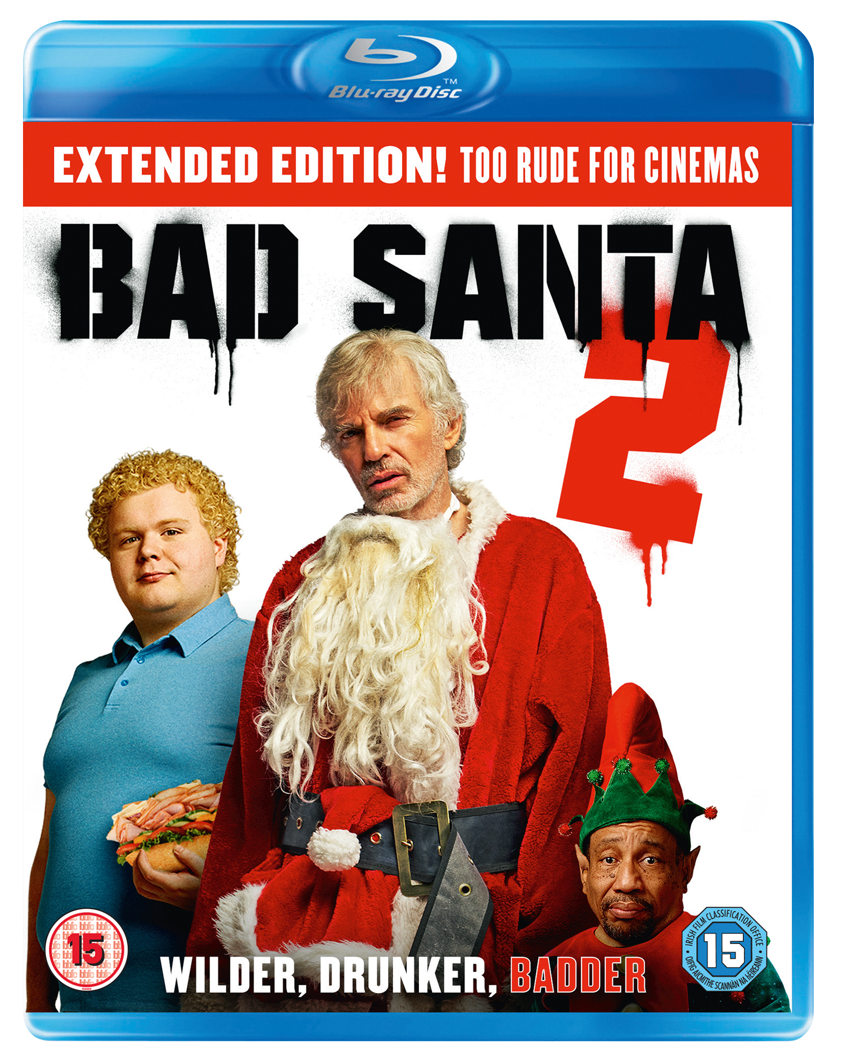 boom competitions - win Bad Santa 2 on Blu-ray