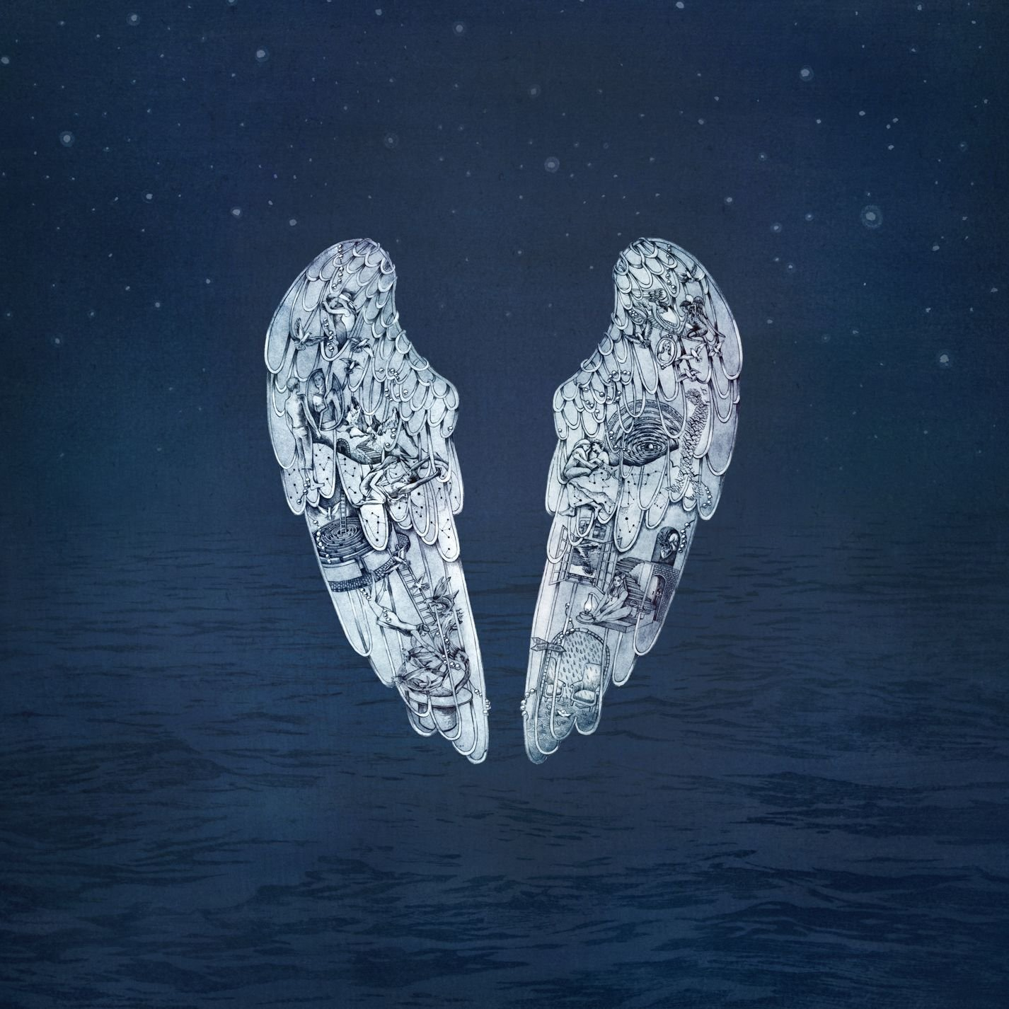 boom reviews - Ghost Stories by Coldplay album cover