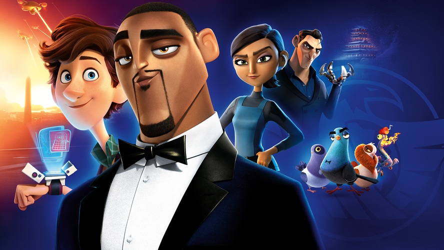 boom reviews - spies in disguise