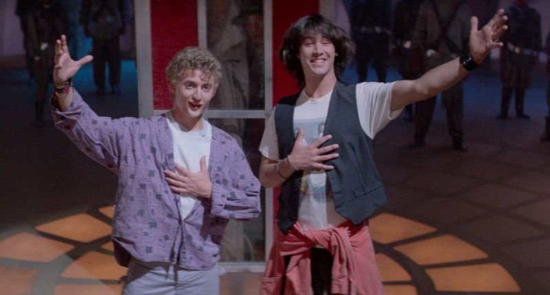 boom reviews Bill & Ted's Excellent Adventure
