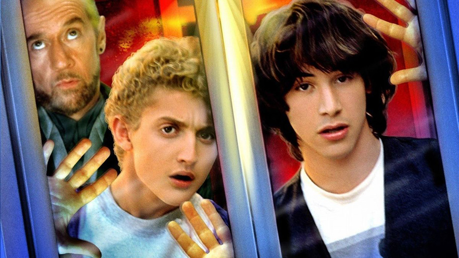 boom reviews -bill and teds excellent adventure