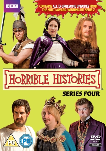 boom competitions - win a copy of Horrible Histories 4 on DVD