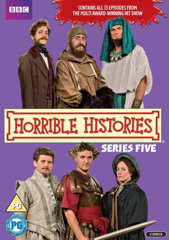 boom competitions - win a copy of Horrible Histories series 5 on DVD