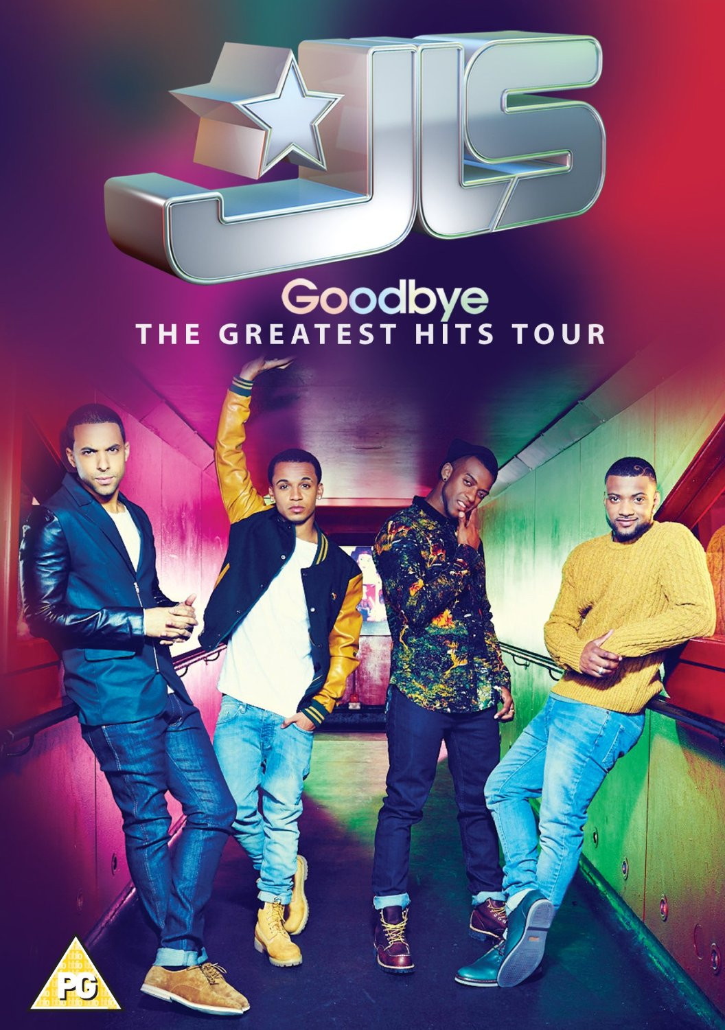 boom competitions - win a copy of JLS Goodbye: The Greatest Hits Tour on DVD