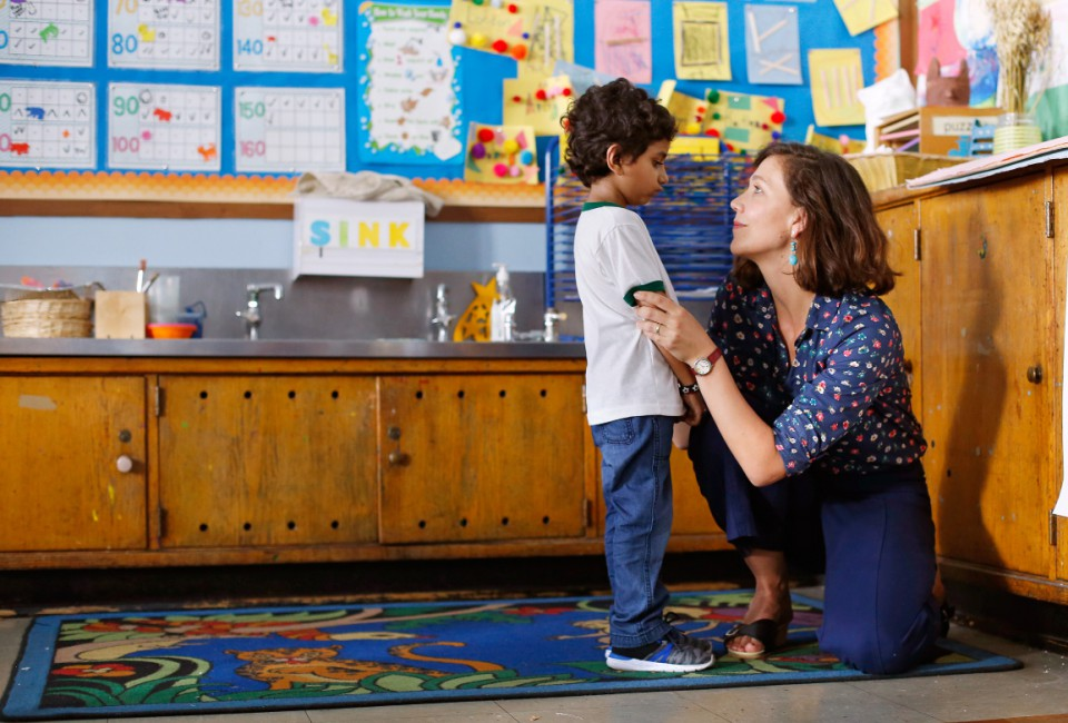 boom reviews The Kindergarten Teacher