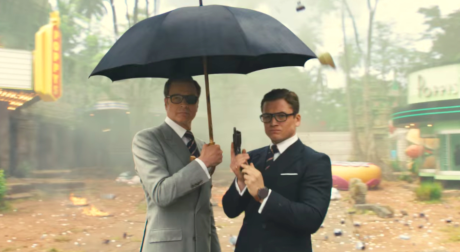 boom reviews Kingsman: the Golden Circle