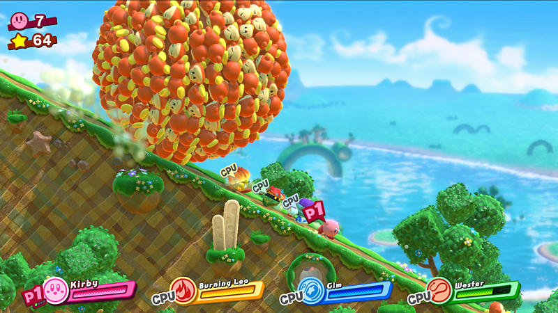 boom reviews Kirby Star Allies