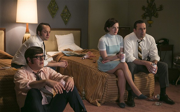boom reviews Mad Men season 7 part 1