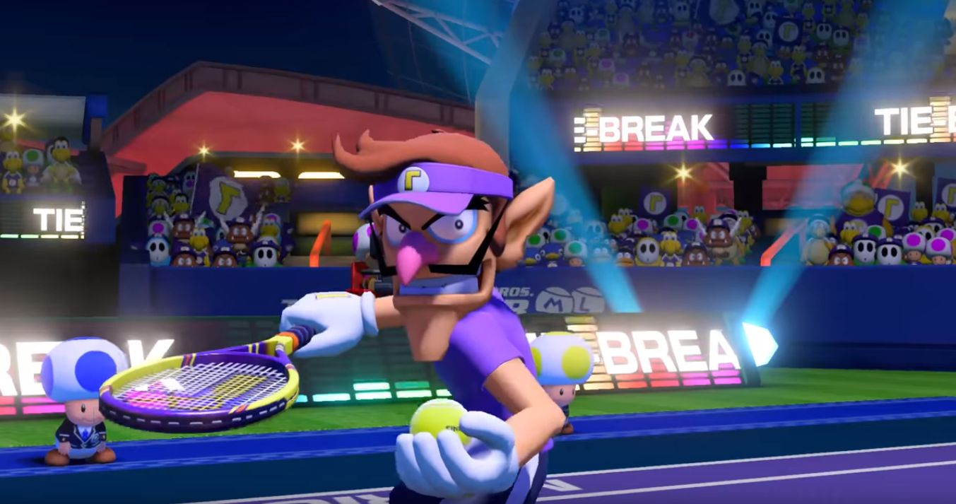 boom reviews Mario Tennis Aces