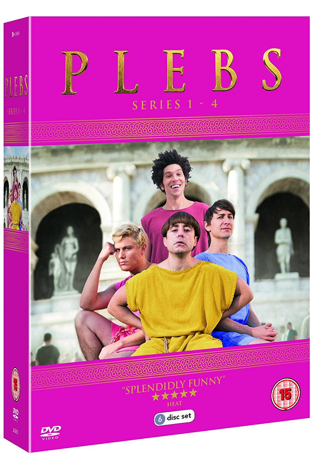 boom competitions - win a Plebs boxset on DVD