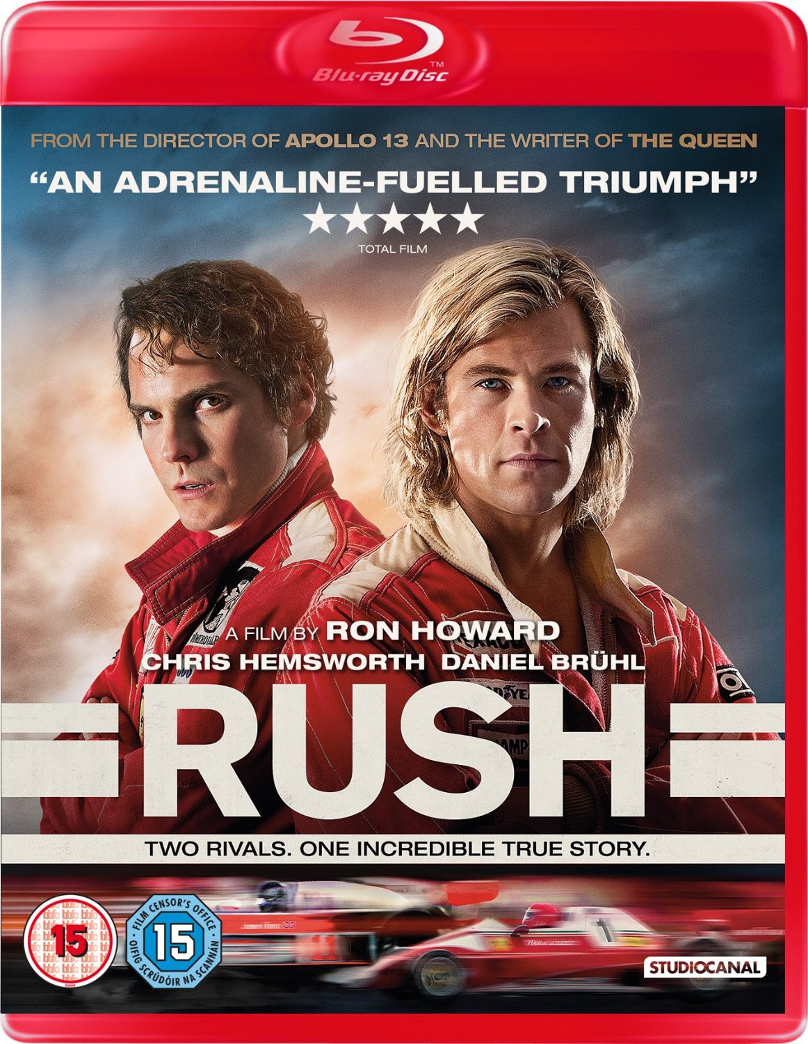 boom competitions - win a copy of Rush on Blu-ray